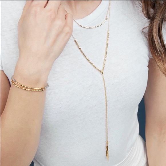 Gorjana Laguna chain bead bracelet